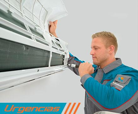 Reparación urgente de aire acondicionado