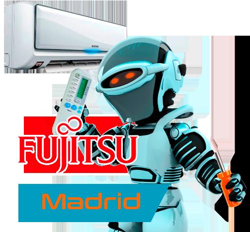Servicio técnico aire acondicionado Fujitsu en Madrid