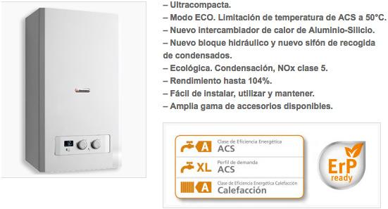 Servicio Técnico de Calderas HERMANN MICRAPLUS 30 en Madrid