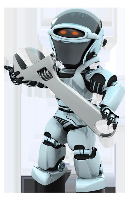 Robot Kalderalia de reparación de calefacción