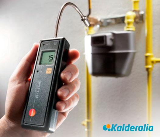 Detección y reparación urgente de fugas de gas natural en TOLEDO
