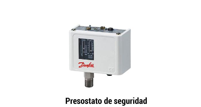 Presostato de seguridad quemador de gas