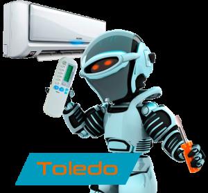 reparación aire acondicionado en Toledo
