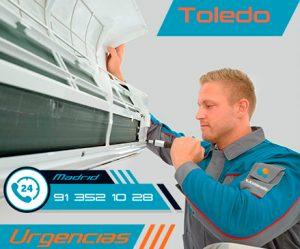 reparación urgente de aire acondicionado en Toledo