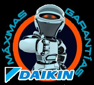garantías aire acondicionado Daikin