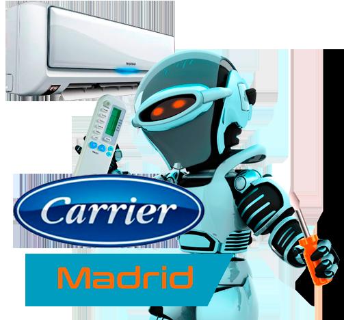 Servicio técnico aire acondicionado Carrier en Madrid