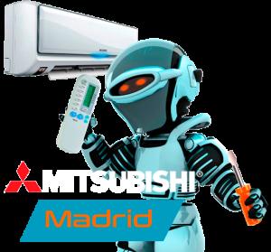 Servicio técnico aire acondicionado Mitsubishi en Madrid